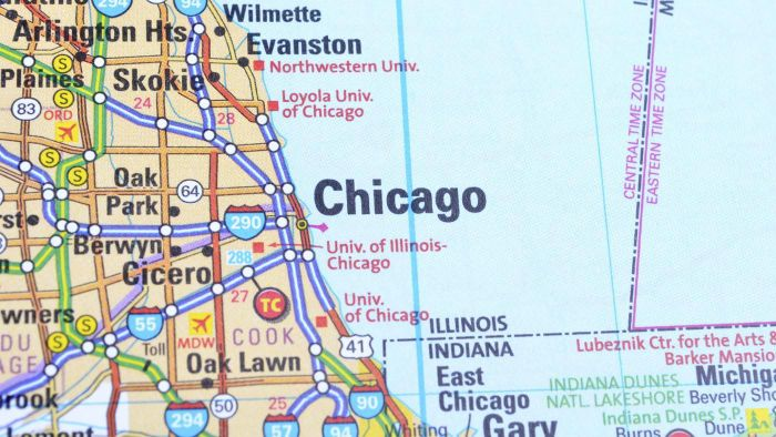 Where Can You Find Maps of Illinois Cities?