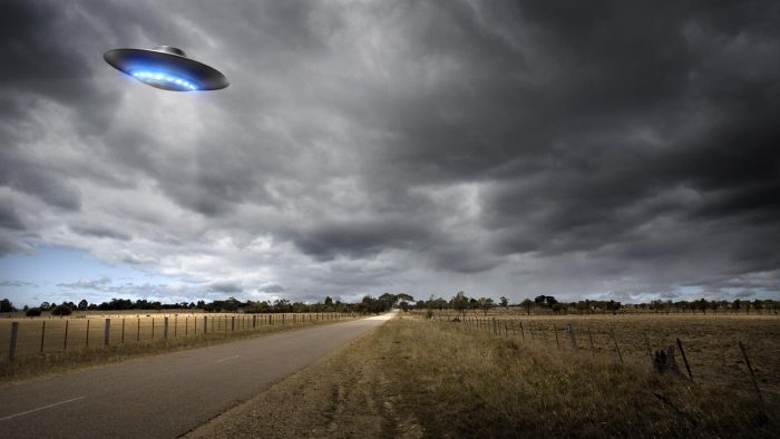 Where can you find new UFO news?