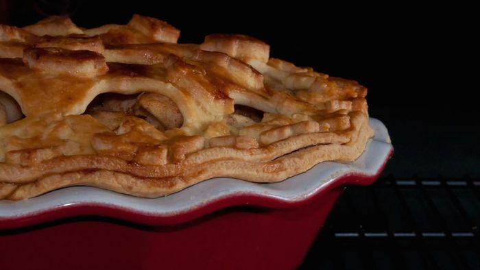 Where Can You Find an Old-Fashioned Apple Pie Recipe?