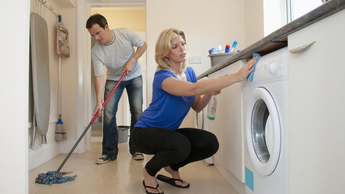 How can you organize house cleaning?