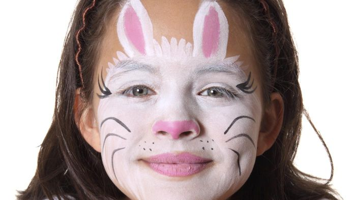 Ordinaire How Can You Paint Your Face To Look Like A Bunny?
