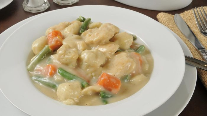 Where Can You Find Paula Deen's Recipe for Chicken and Dumplings?
