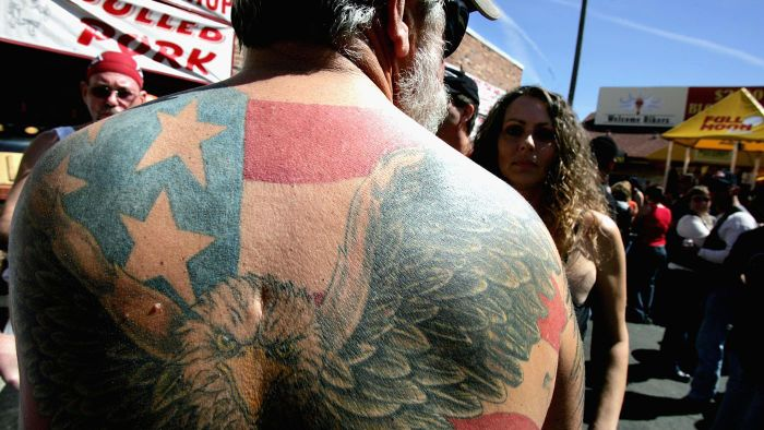 Where Can You Find Photos of Tattoos Featuring the American Bald Eagle?