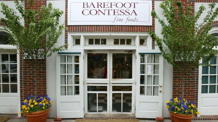 Where Can You Find Recipes From the Barefoot Contessa TV Show ?