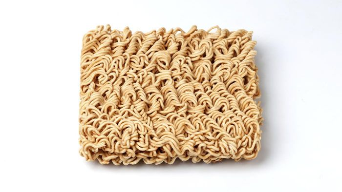 Where can you find salad recipes using ramen noodles?