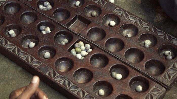 How can someone win Mancala in only one turn?