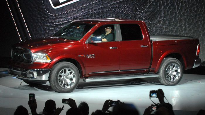 Where can you find stock tires sizes for a Dodge Ram 1500?