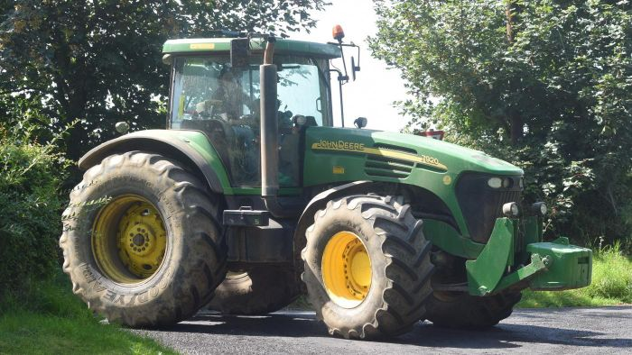 Where Can a Tractor Tire Be Replaced?