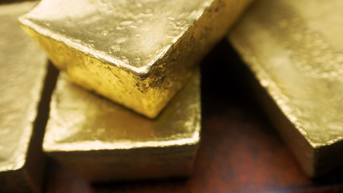 Where can you find the value of a one-ounce gold bar?