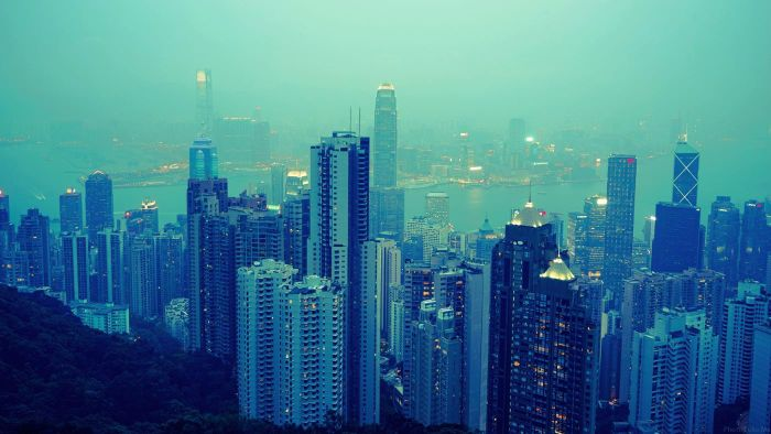 What is the capital city of Hong Kong?