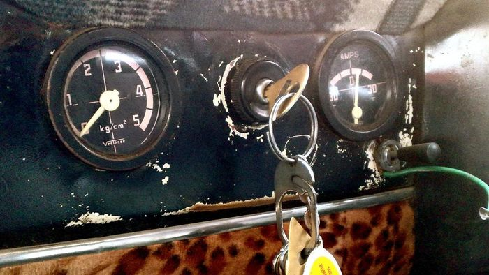Where is a car's ignition switch?
