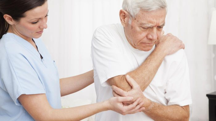 What Causes Water on the Elbow?