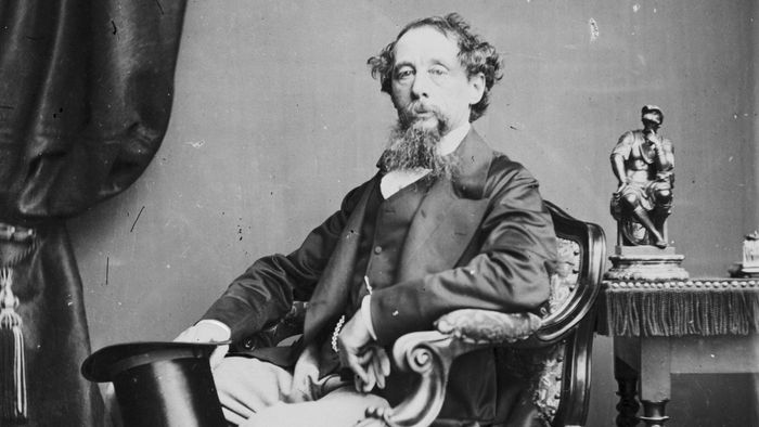 Why does Charles Dickens use staves instead of chapters?