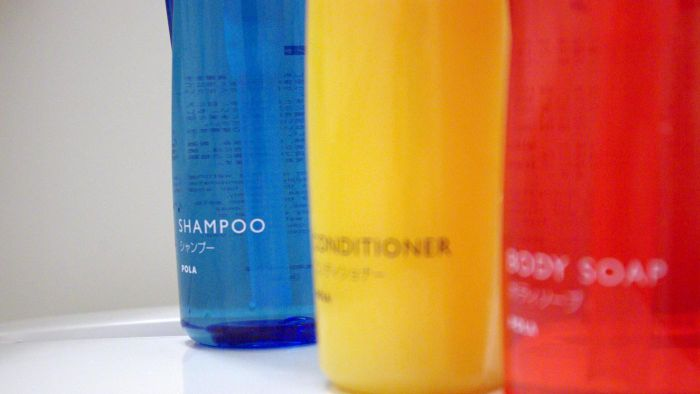 What is the chemical formula for shampoo?