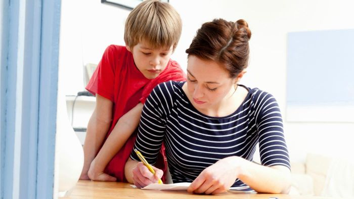 What is a child absence letter, and how is it used?