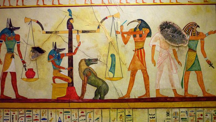 What clothes did Ancient Egyptians wear?