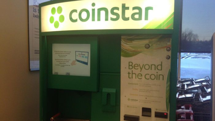 Where Are Coinstar Machines Sold?