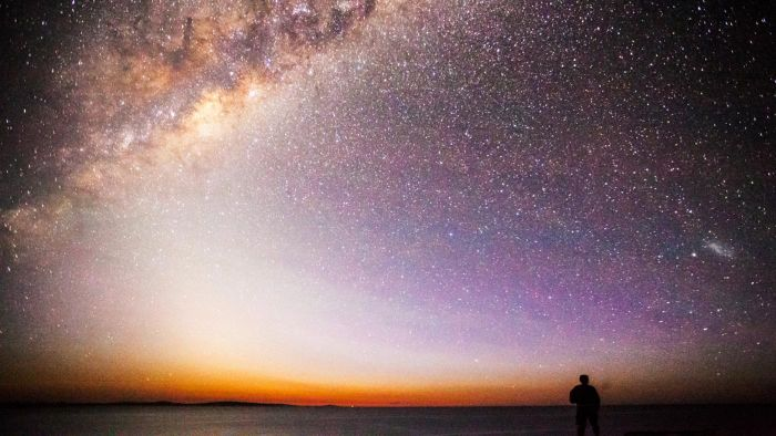 What Color Is the Milky Way?