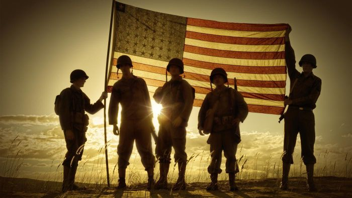 What Colors Represent Veterans Day?