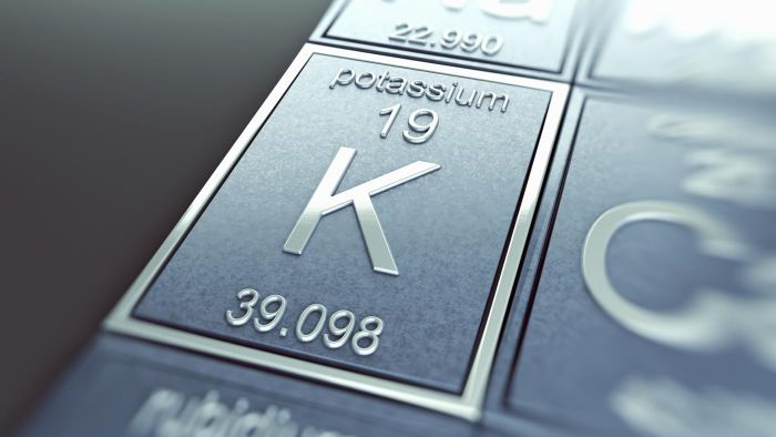 What is considered a high potassium level?