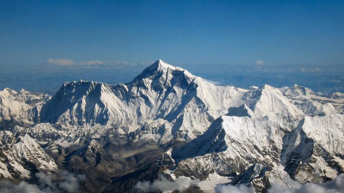 On which continent is Mount Everest?
