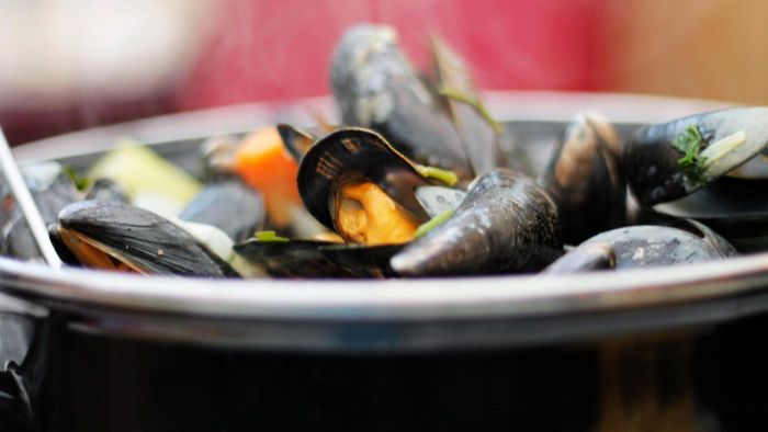 How Do You Cook Mussels With White Wine?
