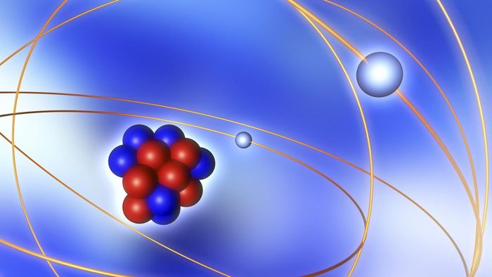 What is the core of an atom called?