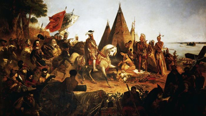 For What Country Did Hernando De Soto Sail?
