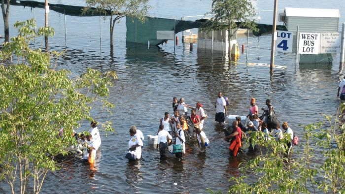 What was the death toll from Katrina?