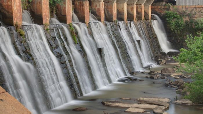 What is the definition of hydroelectric power?