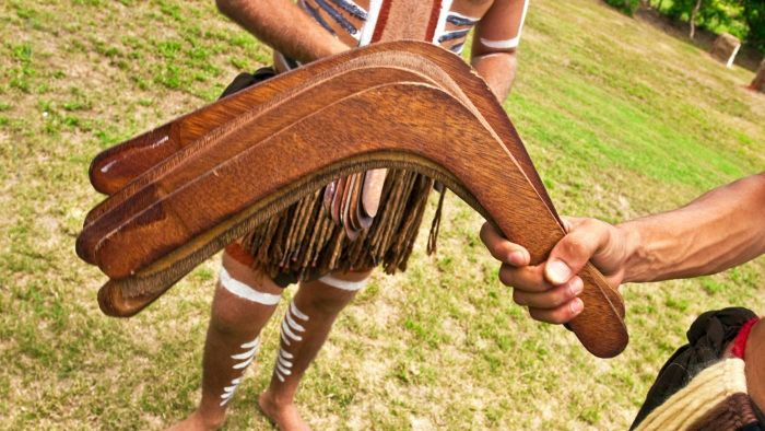 Did Australians Invent the Boomerang?