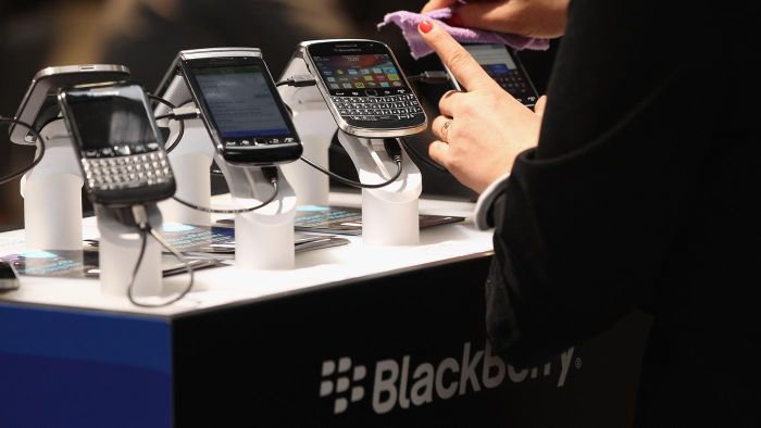 How did the BlackBerry get its name?
