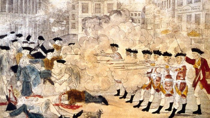 How Did the Colonists React to the Boston Massacre?