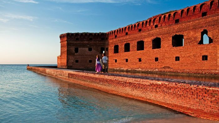 How did Dry Tortugas National Park get its name?