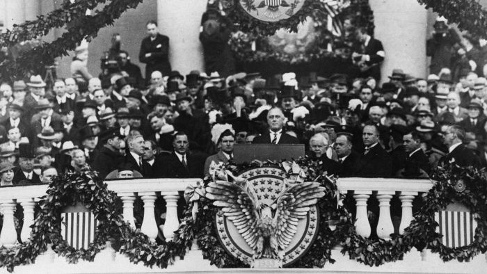 What Did FDR Promise in His First Inaugural Address?