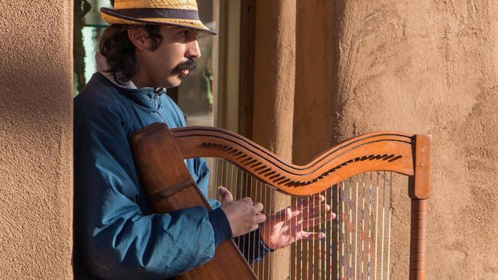 Where Did the Harp Originate?