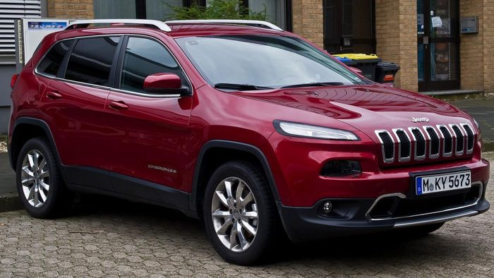 When Did the Jeep Cherokee Latitude Debut?