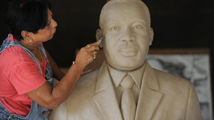What did Martin Luther King Jr. do to become famous?