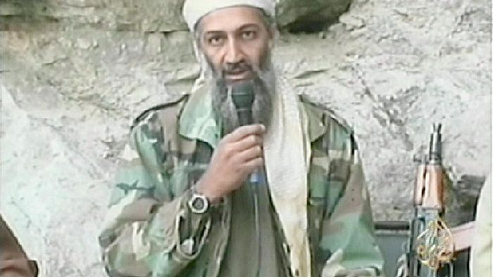 How did Osama bin Laden get power?