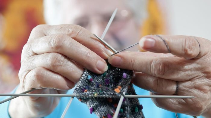 When Did the Practice of Knitting Begin?