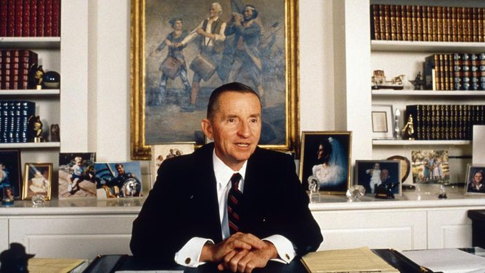 When did Ross Perot run for president?