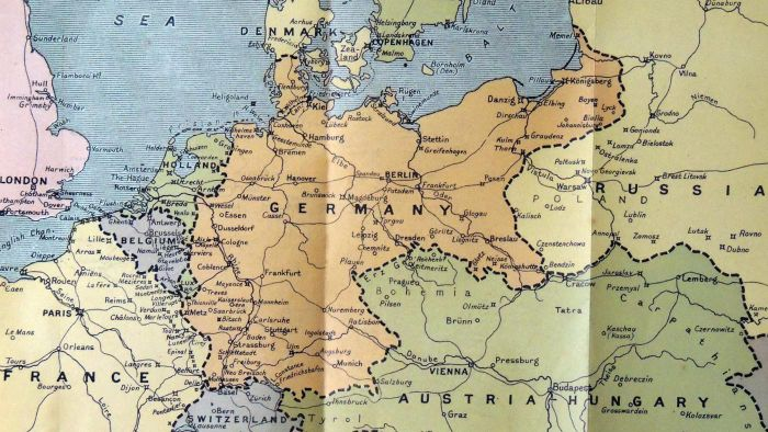 How Did the Treaty of Versailles Change the World Map Referencecom