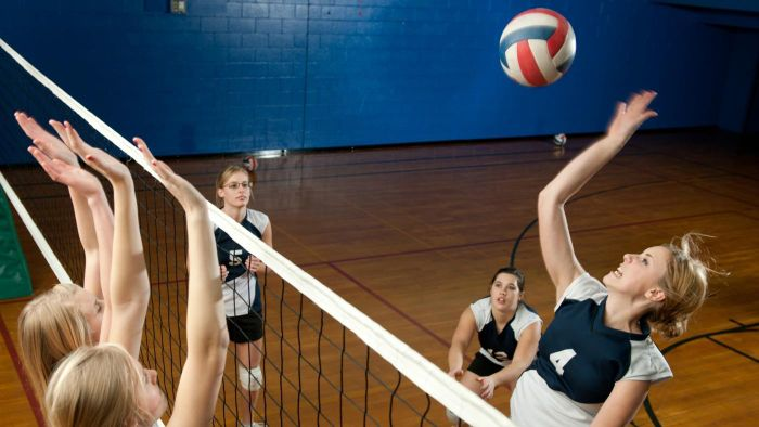 Where did volleyball originate?