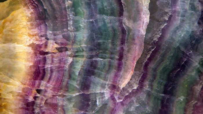 Who discovered fluorite?
