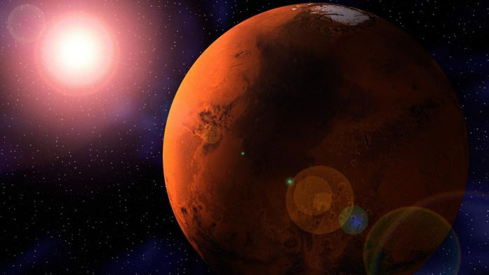 Who Discovered Mars?