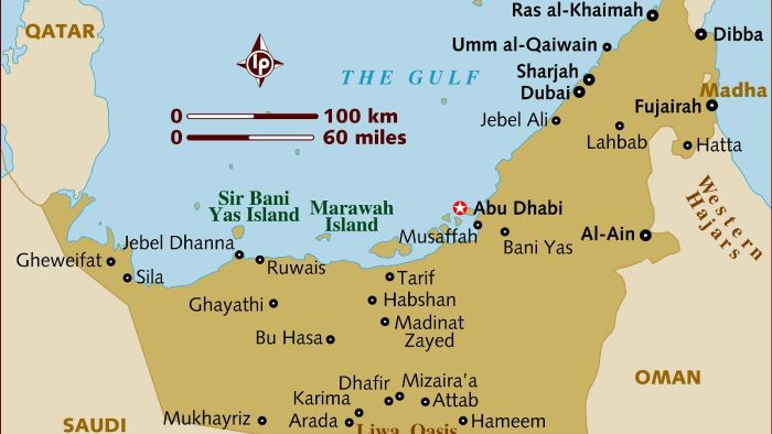 What Is the Distance Between Abu Dhabi and Dubai?