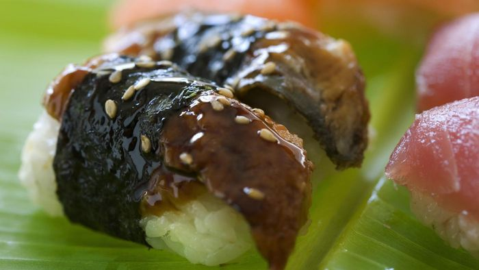 What is eel sushi?