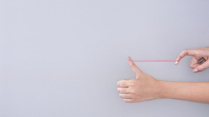 How far can a rubber band stretch?
