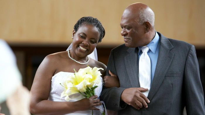 Why Does a Father Walk the Daughter Down the Aisle?