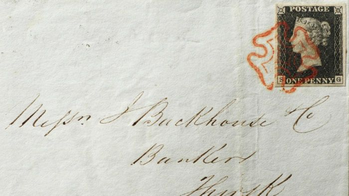 When was the first stamp produced?